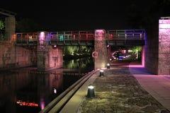 Puente colorido Foto de archivo libre de regalías