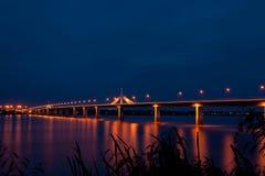 Puente colorido de la amistad Foto de archivo libre de regalías