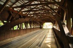 Puente cubierto Foto de archivo
