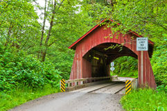 Puente cubierto Imagen de archivo