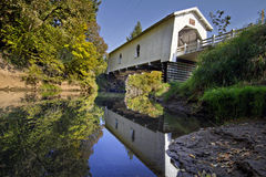 Puente cubierto 3 de Hoffman Imagenes de archivo
