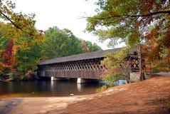 Puente cubierto Fotografía de archivo libre de regalías