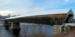 Puente cubierto Foto de archivo libre de regalías