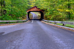 Puente cubierto Fotografía de archivo