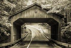 Puente cubierto Imagenes de archivo