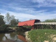 Puente cubierto Imagen de archivo libre de regalías