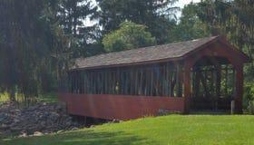 Puente cubierto Fotos de archivo