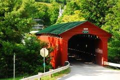 Puente cubierto de Arlington foto de archivo