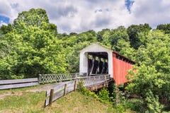Puente cubierto de Hildreth fotos de archivo