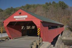 Puente cubierto de Taftsville Imagen de archivo