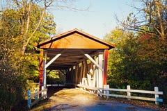 Puente cubierto del camino de Everett Fotografía de archivo libre de regalías