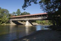 Puente cubierto del camino de zona este Imagen de archivo