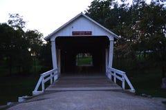 Puente cubierto 2 del cuchillero-Donahue Imagenes de archivo