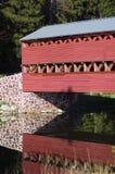 Puente cubierto Gettysburg Pennsylvania de Sachs Foto de archivo