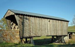 Puente cubierto histórico Imagen de archivo libre de regalías