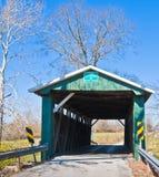 Puente cubierto historcial de Ohio Foto de archivo