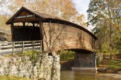 Puente cubierto jorobado, Virginia, los E.E.U.U. fotografía de archivo libre de regalías