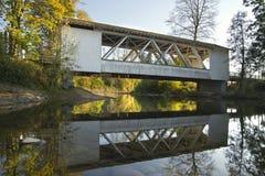 Puente cubierto Oregon 3 de Hannah fotos de archivo