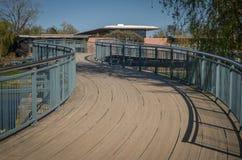 Puente Curvy foto de archivo