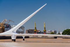 Puente de Λα Mujer Bridge Αργεντινή Στοκ εικόνες με δικαίωμα ελεύθερης χρήσης