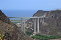 Puente de Сильва стоковые фотографии rf
