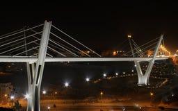 Puente de Abdoun en la noche Foto de archivo libre de regalías
