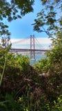 Puente 25 de abril Fotografía de archivo libre de regalías