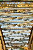 Puente de acero Imagen de archivo libre de regalías