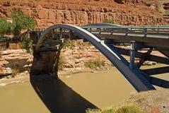 Puente de acero Imagen de archivo