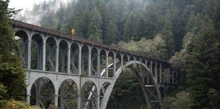 Puente de acero viejo Foto de archivo