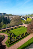 Puente de Adolfo Fotografía de archivo libre de regalías