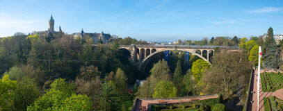Puente de Adolfo Imágenes de archivo libres de regalías