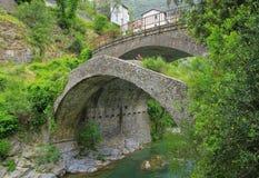 Puente de Airole Imagenes de archivo