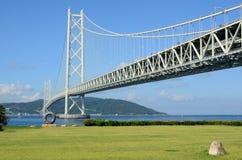 Puente de Akashi Kaikyo Fotos de archivo libres de regalías