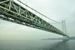 Puente de Akashi Kaikyo Fotografía de archivo libre de regalías