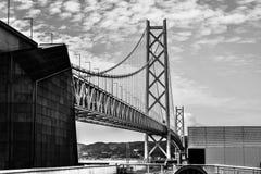Puente de Akashi Kaikyo foto de archivo libre de regalías