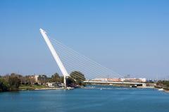 Puente DE Alamillo Royalty-vrije Stock Afbeeldingen