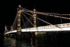Puente de Albert Fotografía de archivo libre de regalías