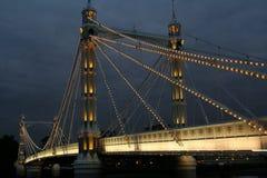 Puente de Albert Imagen de archivo libre de regalías