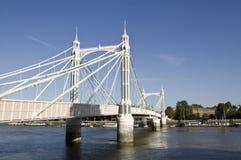 Puente de Albert, Londres Foto de archivo libre de regalías