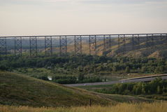 Puente de alto nivel Imagenes de archivo