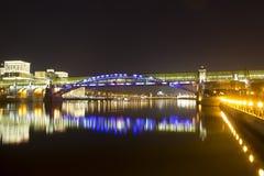 Puente de Andreevsky Imágenes de archivo libres de regalías