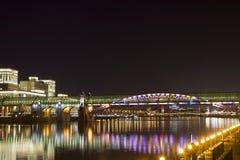 Puente de Andreevsky Foto de archivo libre de regalías