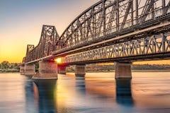 Puente de Anghel Saligny Fotos de archivo libres de regalías