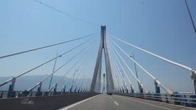Puente de Antirrio imagenes de archivo