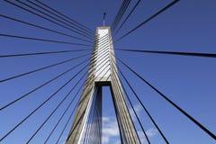Puente de Anzac, Sydney, Australia imagen de archivo