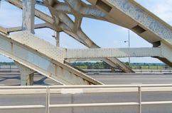 Puente de arco de acero Fotografía de archivo libre de regalías