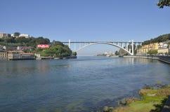 Puente de Arrabida Fotos de archivo