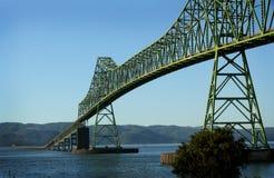 Puente de Astoria Megler Fotografía de archivo