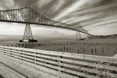 Puente de Astoria-Megler Fotos de archivo